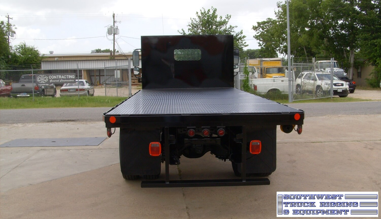 Custom hand built flatbed