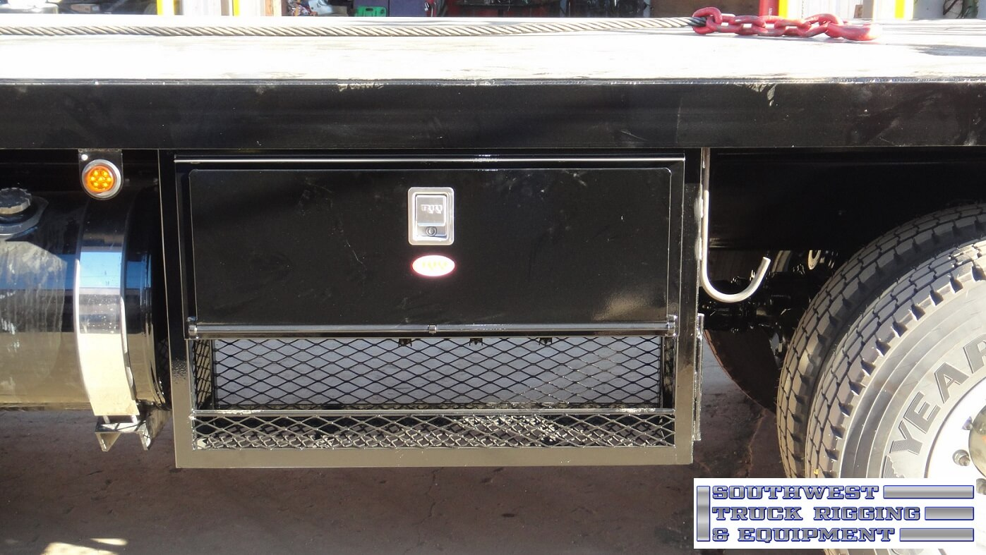 RKI Underbody Toolbox with Custom Expanded Metal Catch-All