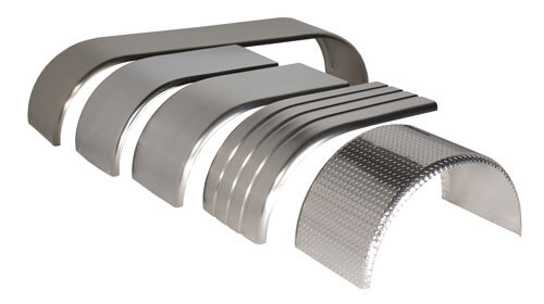Aluminum Fenders, stainless steel fenders